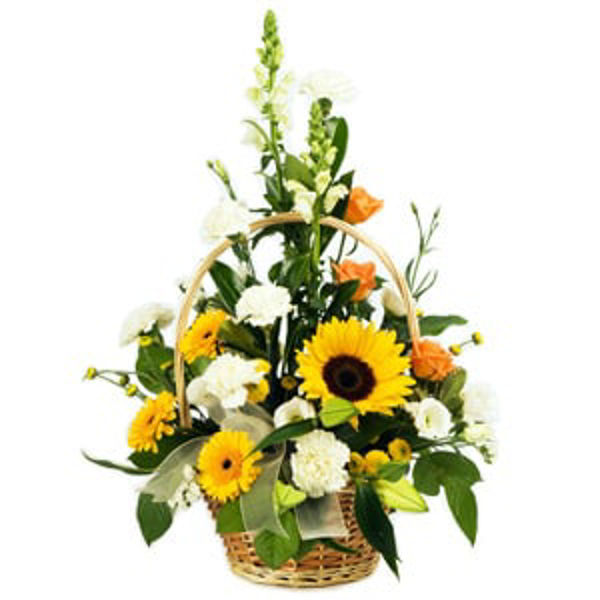 Picture of Traditional Flower Basket