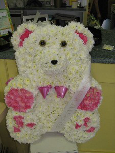 Picture of Floral Teddy Bear