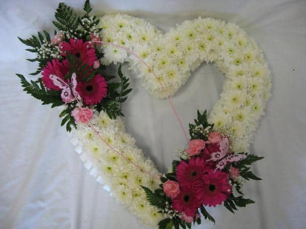 Picture of Floral Love Heart