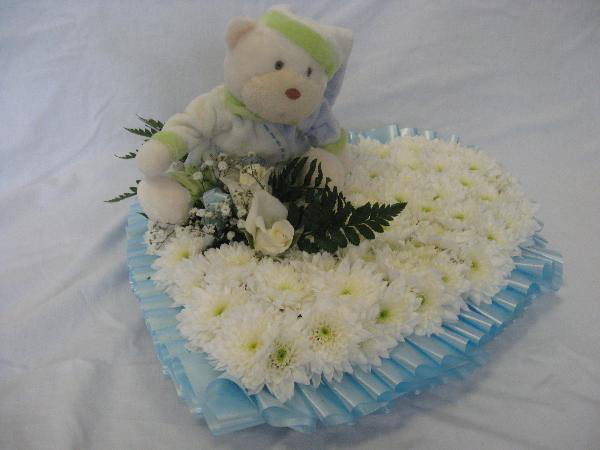 Picture of Baby Heart Wreath