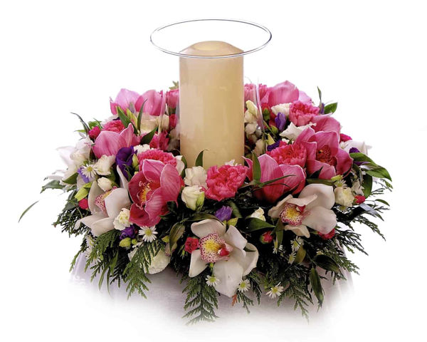 Picture of Contemporary Floral Centrepiece